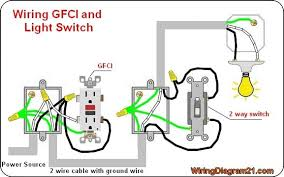 gfci outlet wiring diagram electrical tips pinterest diagram outlet wiring diagram to a switch gfci outlet wiring diagram