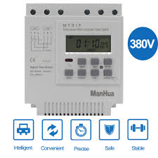 <b>ManHua</b> MT317 380V 16A LCD digital multi purpose three phase 7 ...