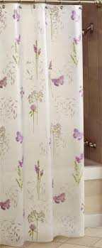 purple and green shower curtains. Shower Curtain Abundance Purple Green White Butterflys ON Opaque Peva 70 X 72 | EBay And Curtains E