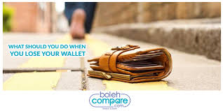 Do What Should When You Lose Wallet Your