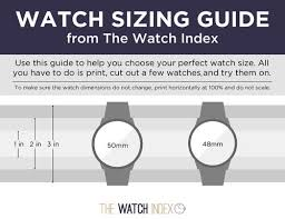 What Is The Best Watch Size For Your Wrist Thewatchindex Com