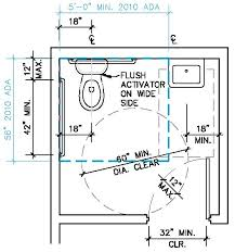 Accessible Bathroom Layout Set New Decorating Design