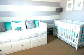 Aqua Feature Wall Gray Striped Accent Wall Gray White And Aqua Bedroom Gray  And White Striped