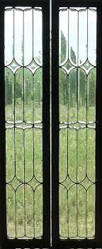 sidelight door panels window