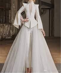 fashionable wedding dresses. modern non traditional wedding dresses pants long sleeve elegant fashionable unique gowns online cheap best quality top e