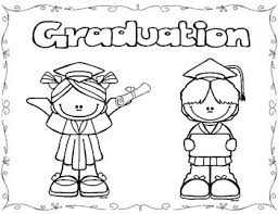 Kindergarten Graduation Coloring Pages Graduation Coloring Pages Freebie By Kindergarten Princess Tpt