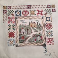Cross stitch quilting blocks identified. &  Adamdwight.com