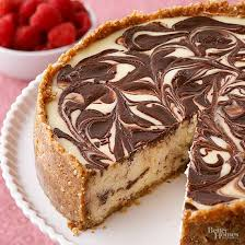 chocolate marble cheesecake. Beautiful Marble And Chocolate Marble Cheesecake D