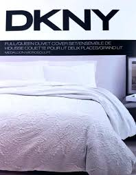 dkny city pleat duvet cover grey covers loading zoom king loft stripe bedding collection in comforter