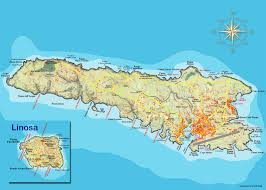 Cartina Turistica Lampedusa Tomveelers