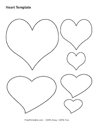 Free Printable Heart Coloring Pages For Kids Valentine Shapes ...