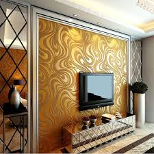 QIHANG Modern Luxury Abstract Curve 3d Wallpaper Roll Mural Papel De Parede  Flocking for Striped Gold&yellow Color Qh-wallpaper 0.7m8.4m=5.88 - -  Amazon. ...