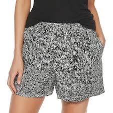 Apt 9 Mens Shirt Size Chart Womens Apt 9 Challis Soft Shorts In 2019 Soft Shorts