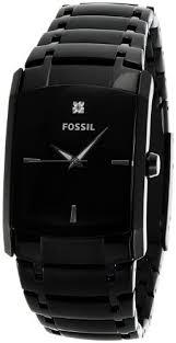 buy fossil end of season diamond analog black dial men s watch buy fossil end of season diamond analog black dial men s watch fs4159 online at low prices in amazon in