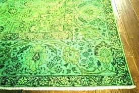 kailani blue green indoor outdoor area rug best view of