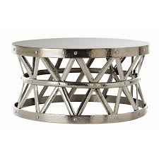 metal coffee tables you ll love wayfair for metallic table design 7
