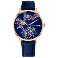tommy hilfiger women s leather watch 1781918