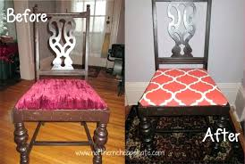 recovering dining room chairs brilliant how to reupholster a dining chair seat diy tutorial