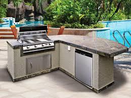 image of outdoor kitchen island kits