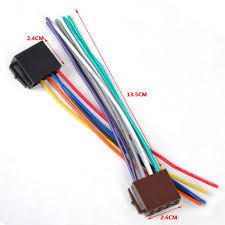 online get cheap iso car radio connector aliexpress com alibaba universal iso radio wire harness female adapter connector cable for car stereo system for mercedes bmw