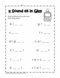 A collection of english esl worksheets for home learning, online practice, distance learning and english classes to teach about phonics, phonics. Long U And Short Worksheets Ue As In Jaimie Bleck