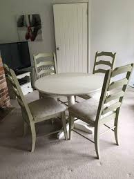 Shabby Chic Kitchen Table 4 Chairs In Thetford Norfolk Gumtree