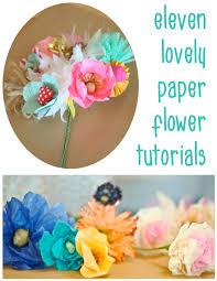 How To Make Paper Flower Bouquet Step By Step 11 Diy Paper Flower Tutorials Dear Handmade Life