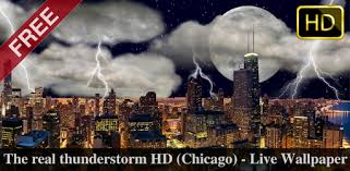 Thunderstorm <b>Chicago</b> - LWP - Apps on Google Play