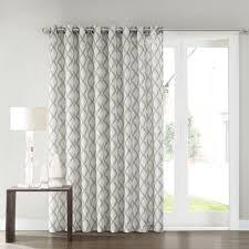 Patio Door Curtain Sonoma Goods For Life Dallon Patio Door Curtain 100 X 84