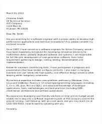 Embedded Software Engineer Cover Letter Sarahepps Com