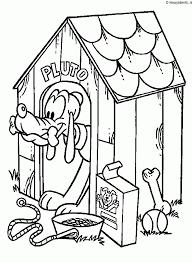 Pluto Kleurplaat Kleurplaten 3698 Kleurplaat Kleurennet