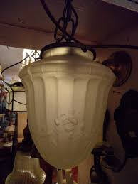575 glass pendant light 100 00 8 in across 9 in long
