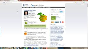 Introduction To Purdue Owl And Apa Style Blog