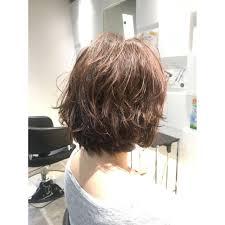 5歳 50代軽やかパーマスタイル Anfectionアンフェクションのヘア