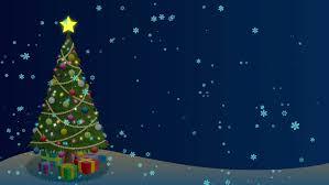 christmas tree background cartoon