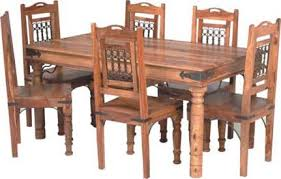 indian dining room furniture. Capsule Jali Wooden Dining Table Set Indian Room Furniture I