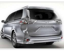 2018 toyota minivan. toyota sienna 2018 redesign and changes minivan