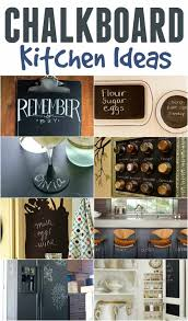 9 amazing chalkboard kitchen ideas