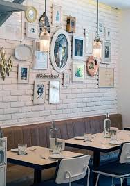 Modern Wall Decorating Ideas Showing Off Artistic Side Of Small Restaurant  Wall Decor Ideas