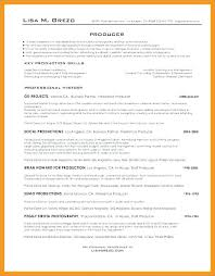 Production Supervisor Resume Template Web Producer Sample Of Amazing Production Supervisor Resume