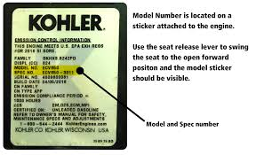 kohler engine parts for dixie chopper mowers when you get to powermower s com use the model information to load the parts diagrams you need