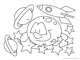 Small Picture Top Space Coloring Pages Cool Ideas For You 6355 Unknown