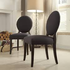 round back dining chairs in chair amazing brown modern plans 14