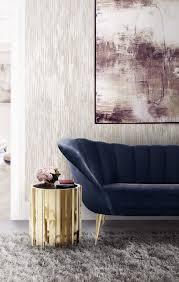 Neueste Trends Wohnzimmer Möbel Interieur Neue Pinterest Samt Sofa Velvet Modernes Modern Sofa Wohnzimmer Mit Blaue Töne Neue Trends Wohnen Klassickern