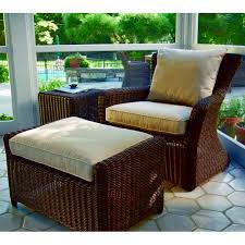 Kingsley Bate Sag Harbor Lounge With Navy Cushions