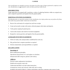 Cv Of Cashier Cashier Cv Ctgoodjobs Powered By Career Times