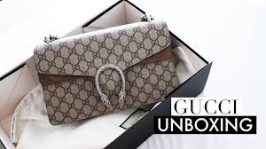 First Name Of Designer Gucci Gucci Dionysus Designer Bag Unboxing First Impression