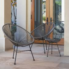 wicker patio furniture. Sarcelles Modern Wicker Patio Chairs By Corvus (Set Of 2) - Free Shipping Today Overstock 23999648 Furniture A