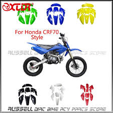 aliexpress com buy fender plastic kits for honda crf 70 crf70