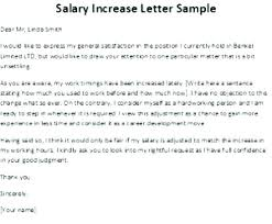 Requesting A Salary Increase Salary Increase Template Letter Theredteadetox Co